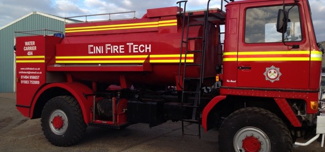 Fire Engine Hire For Films and TV